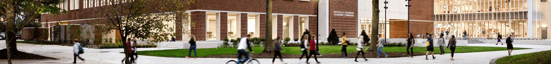 Salisbury University students on campus