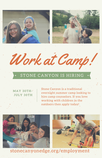 Work at Camp Flyer