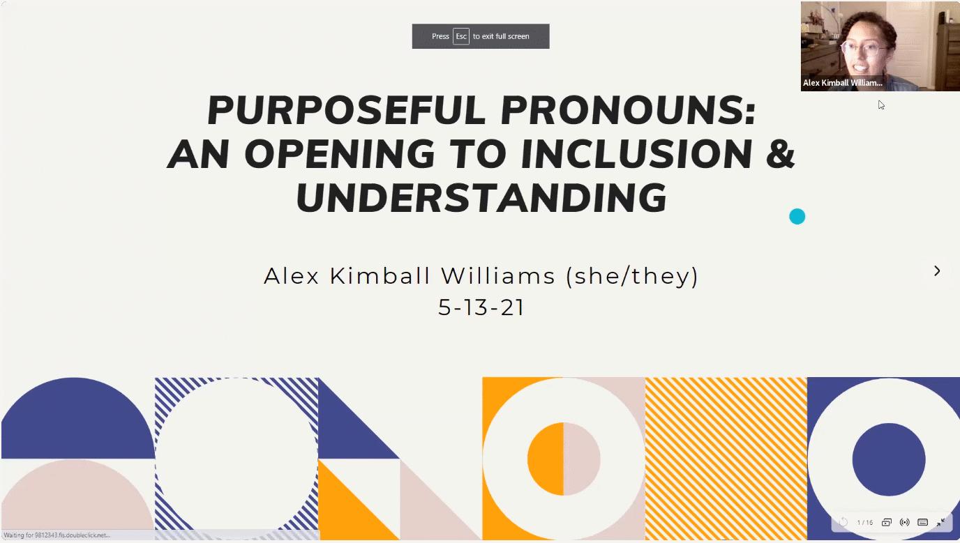 Proper Use Of Pronouns