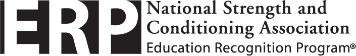 ERP - National Strength and Conditioning Association Education Recognition Program