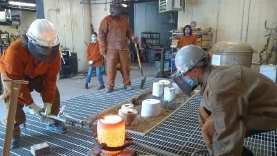 Inside view of the Foundry