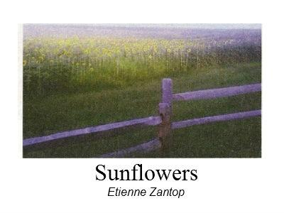 photo of painting Sunflowers by Etienne Zantop