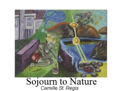 photo of painting Sojourn to Nature by Camille St. Regis