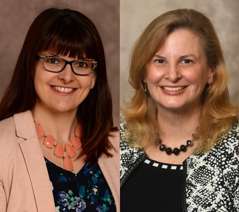 Drs. Céline Carayon and Kristen Walton
