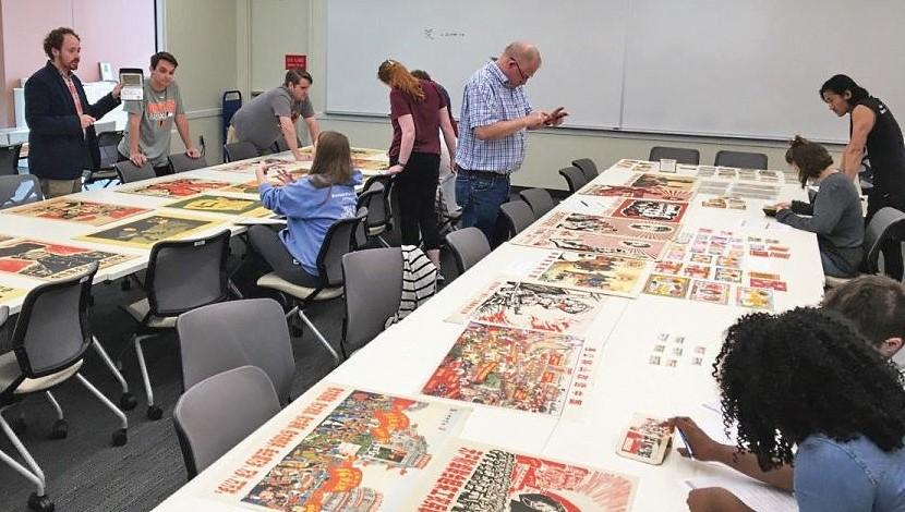 History students investigate
