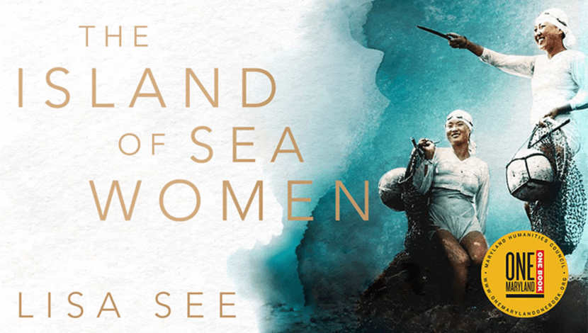 """The Island of Sea Women"" book poster cover"