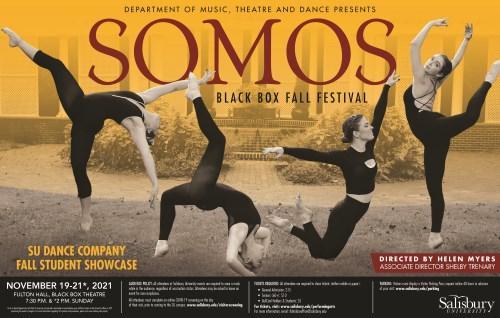 SU Dance Company Poster