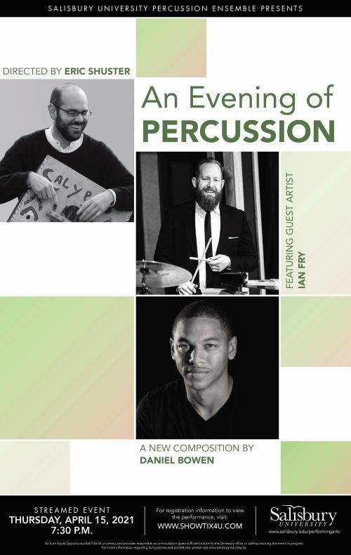 An Evening of Percussion Flyer