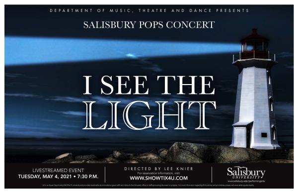 Poster for Salisbury Pops Concert