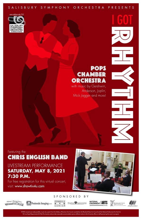 Salisbury Symphony Orchestra - I Got Rhythm
