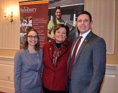 PACE Staff with President Emertius Dr. Dudley-Eshbach