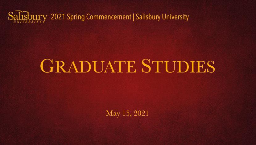 Graduate Commencement Banner