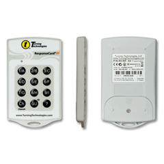 Response Card RF-Accessible