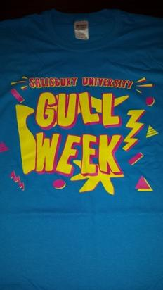 Fall 2015 GULL Week T-shirt Front by Emily Shelton