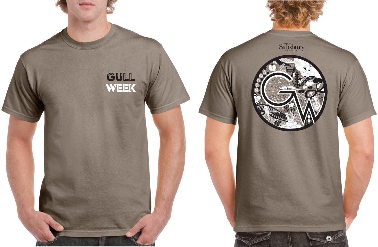 Fall 2018 GULL Week T-shirt by Hettie Epison