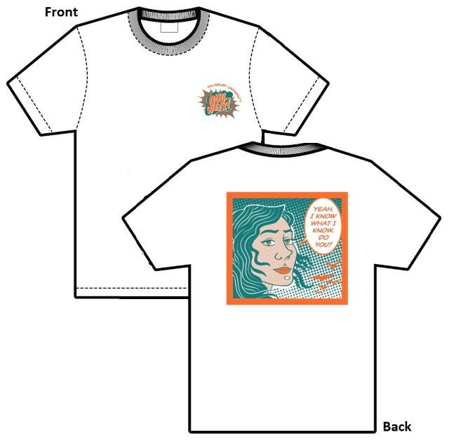 Spring 2019 GULL Week T-shirt by Hannah Wichrowski