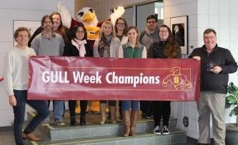 The fall 2018 GULL Week Winning School is Henson School of Science and Technology.