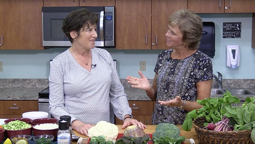 Dr. DiBartolo and Terry Passano talk about food