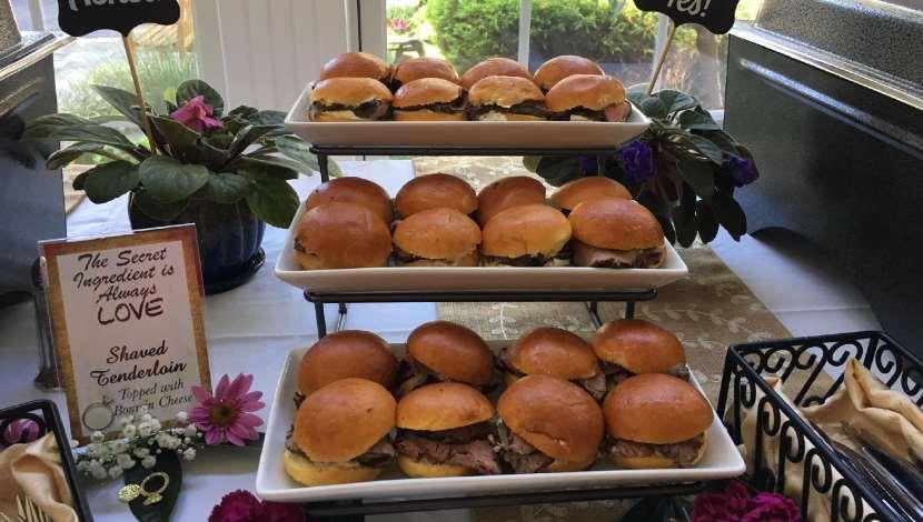 Salisbury University Shaved Beef Sandwiches