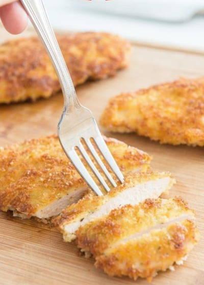 Parmesan Chicken being but