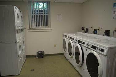 Chester Hall Laundry Room