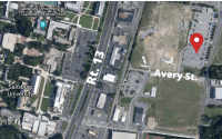 Avery Parking Lot Aerial View