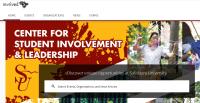 Involved at SU website screen shot