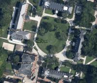 The Quad aerial view