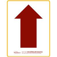Arrow Up Safety Signage Thumbnail