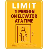 Elevator Limit Safety Signage Thumbnail