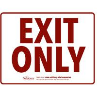 Exit only Safety Signage Thumbnail