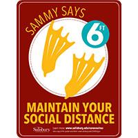 Maintain Your Social Distance Safety Signage Thumbnail