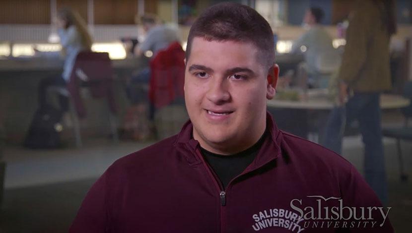 Headshot of Joey Outdoor educational leadership student