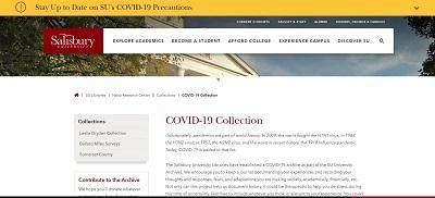 Covid-19 Research screen shot
