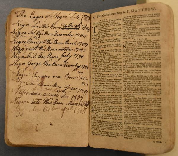 RCT Pollitt Bible