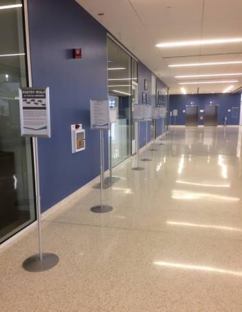 Poetry Walk Hallway