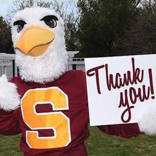 Sammy Sea Gull says thanks!